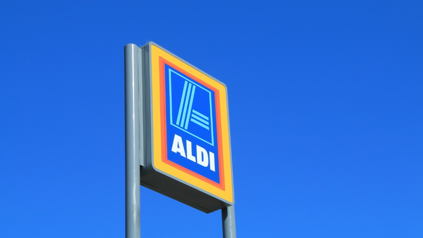 Aldi and Lidl keep eating into the big players' market share (Image: Shutterstock)