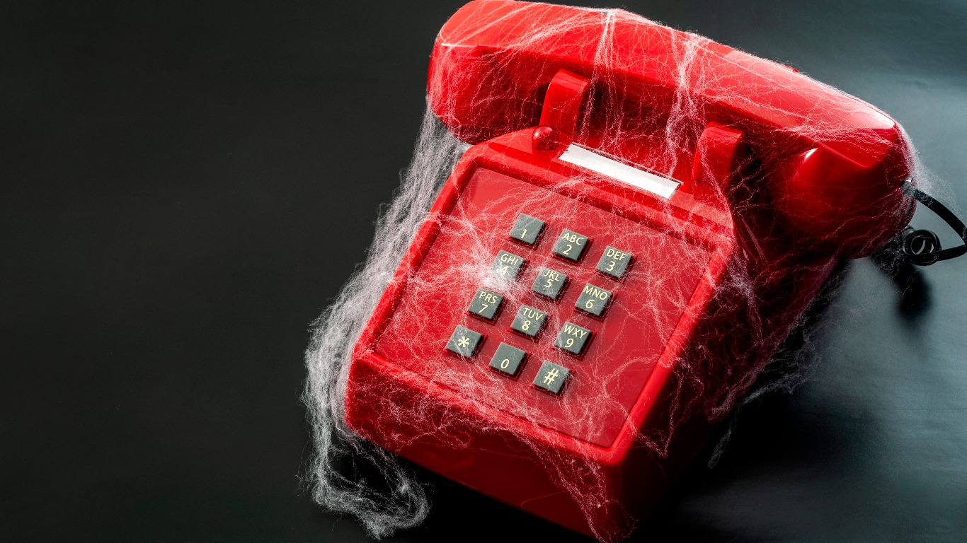 Landlines are largely unused (Image: Shutterstock)