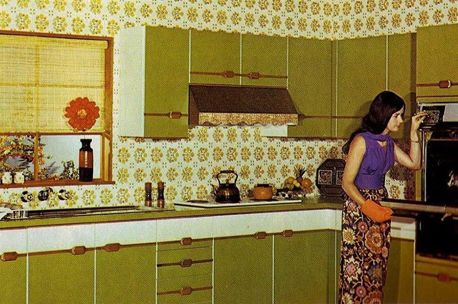 Retro Kitchens Of Yesteryear That Will