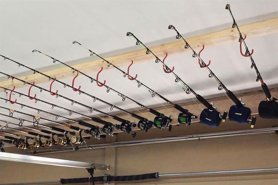 Fishing Rods Holder Night Luminous Hand Rod Bracket Rest Mount with Ground Pins