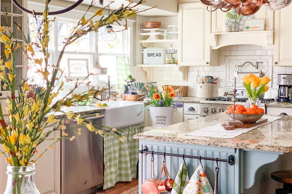 Country decorating ideas for creating homey spaces ...
