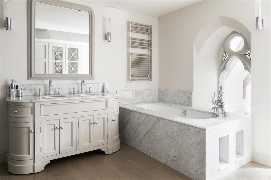 White bathroom ideas that are far from boring ...