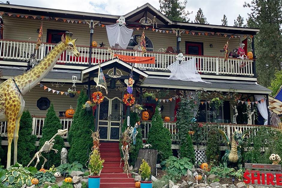 Haunting Halloween homes in their best fancy dress | loveproperty.com