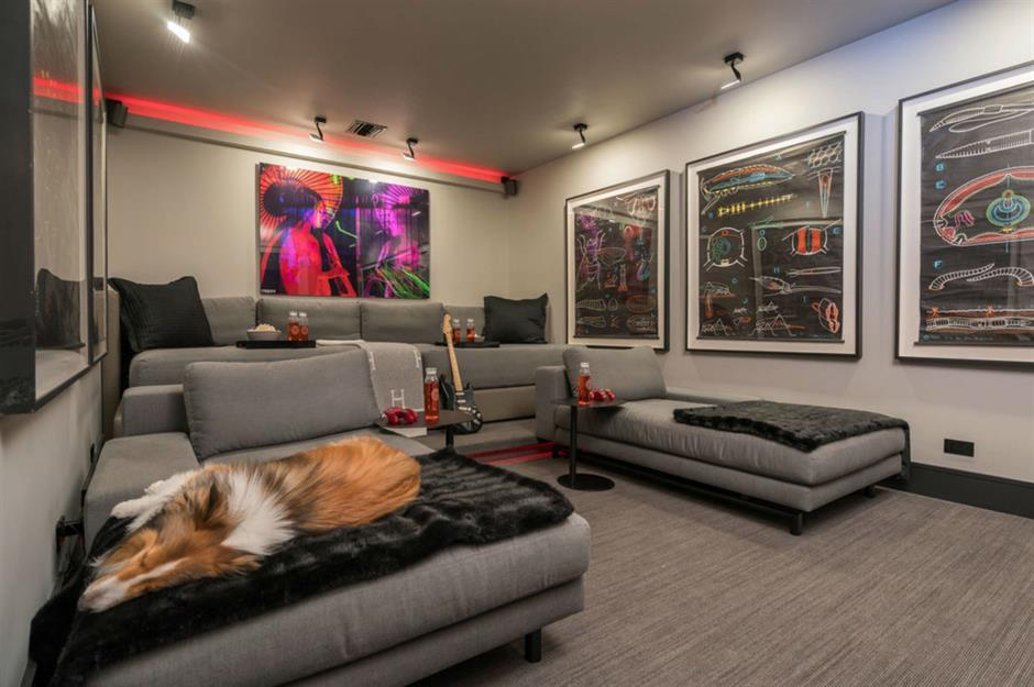 Basement Apartment Living Room