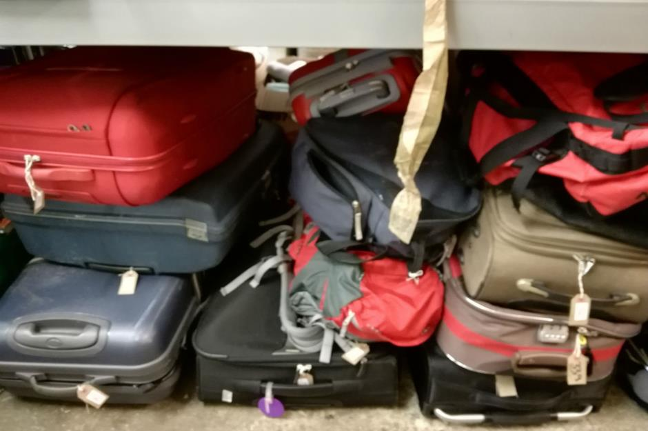 We spent £28 at a lost luggage auction – and this is what we
