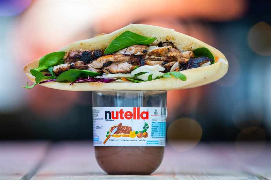 Nutella Weird Food Combinations 3