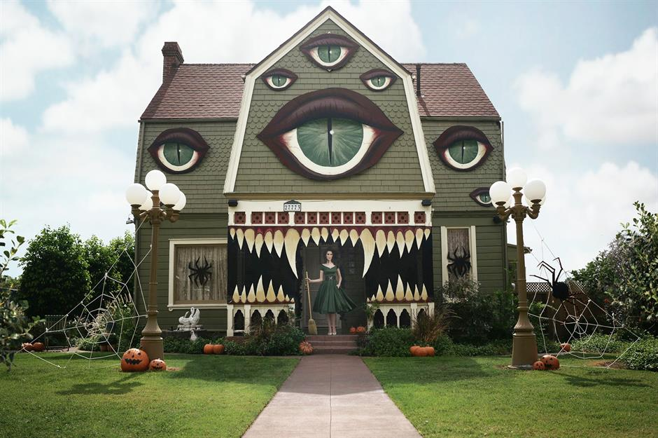 Haunting Halloween homes in their best fancy dress  loveproperty.com