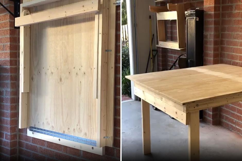 Super 30 Garage Hacks That Are Borderline Genius Loveproperty Com Machost Co Dining Chair Design Ideas Machostcouk