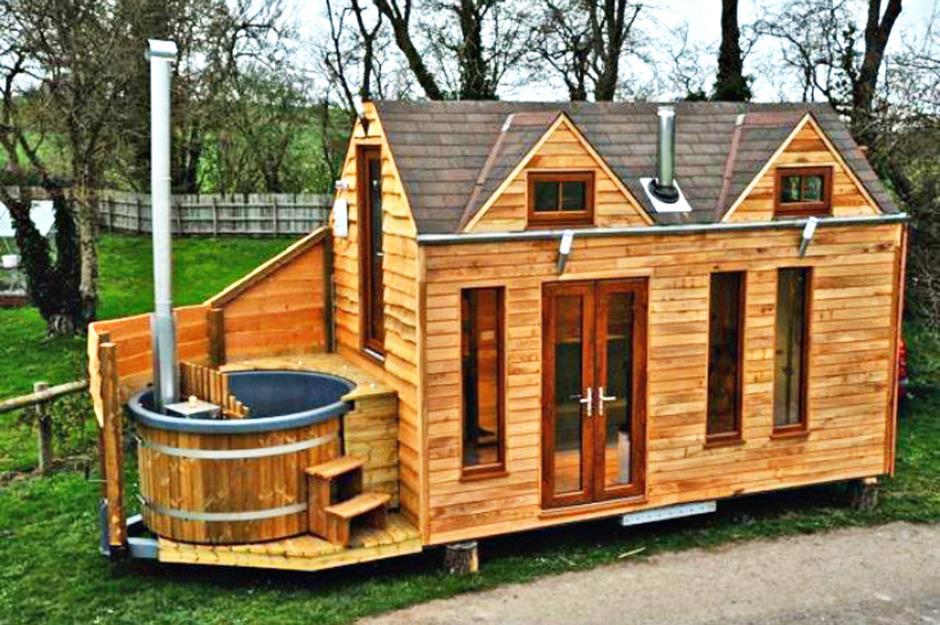 Tinywood Homes Deluxe Tiny House