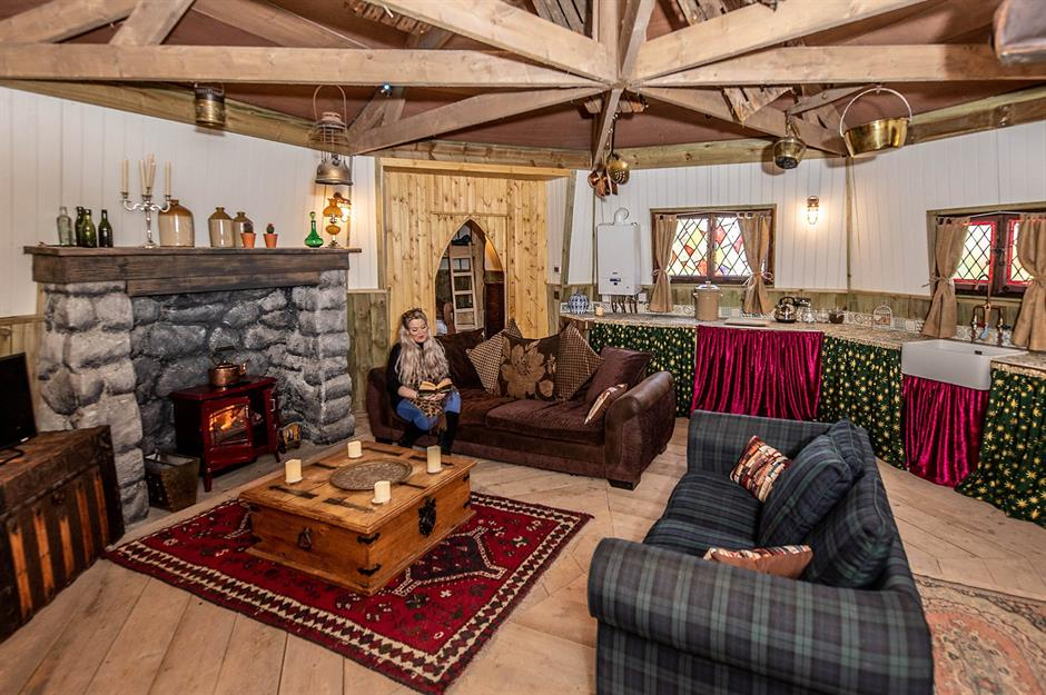 Harry Potter Superfans Who Ve Turned Their Homes Into Hogwarts Loveproperty Com