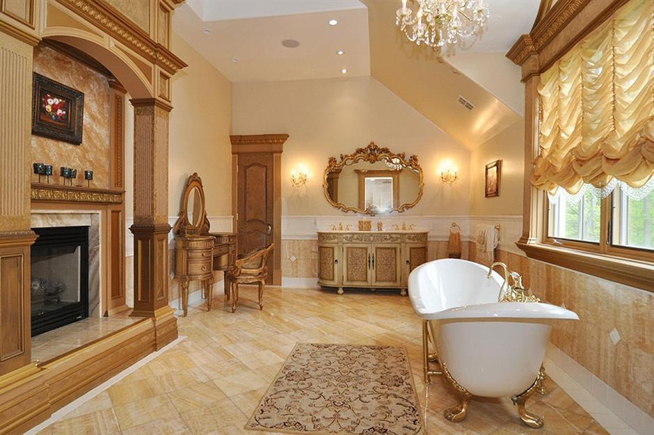 Regal Restroom Real Housewives Mansion Montville Usa
