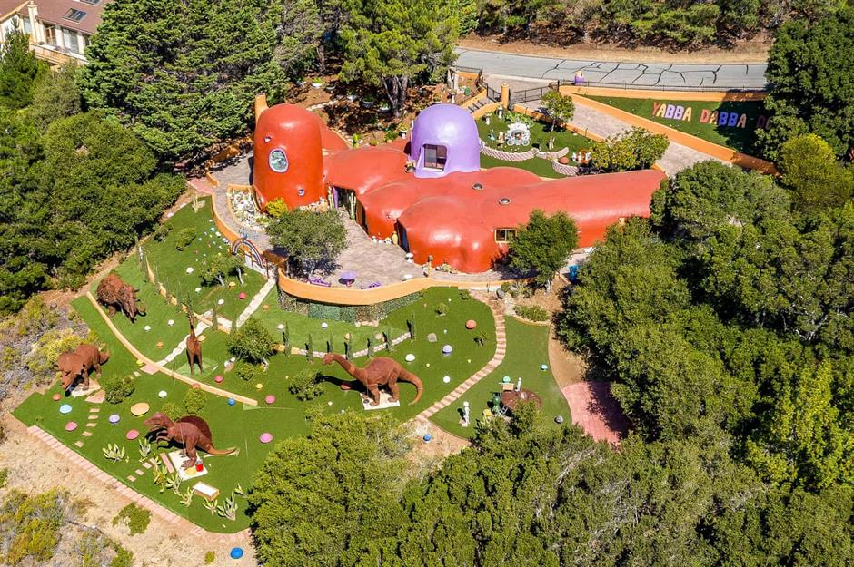 The troublesome 'Flintstone' house and other incredible