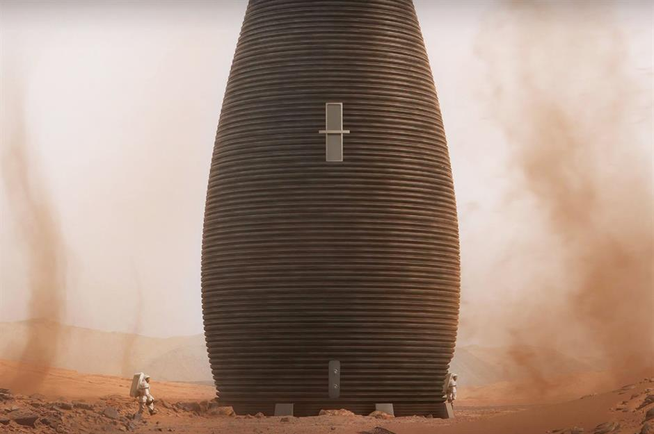 Revealed what homes on mars could actually look like - Buy 3d printed house ...
