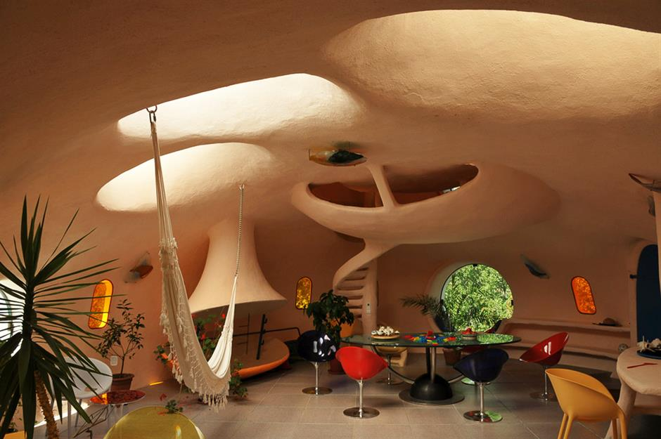 The Troublesome Flintstone House And Other Incredible Bubble Homes Loveproperty Com