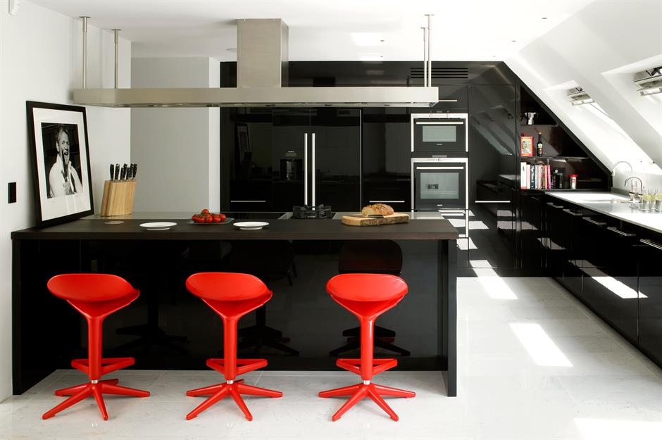 Brilliant Dark Kitchens Black Navy And Dark Grey Kitchen Ideas Gmtry Best Dining Table And Chair Ideas Images Gmtryco