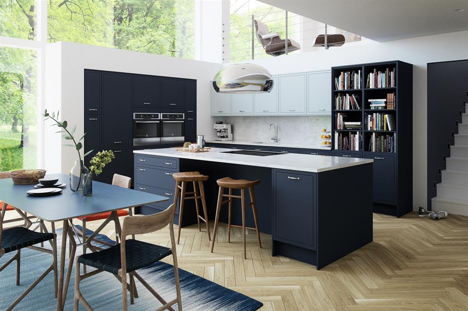 Dark Kitchens Black Navy And Dark Grey Kitchen Ideas Loveproperty Com
