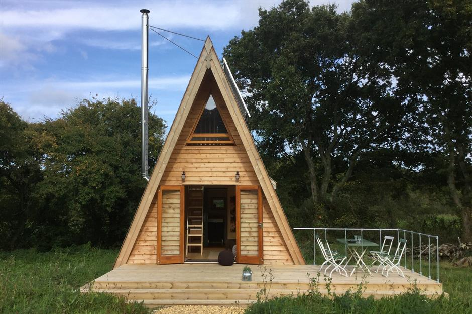 Tiny Cabins In The Woods To Escape The Rat Race Lovepropertycom