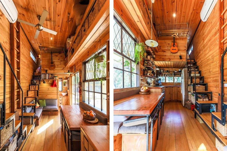 Tiny Home Designs: Tiny Upcycled Homes Made From Trash