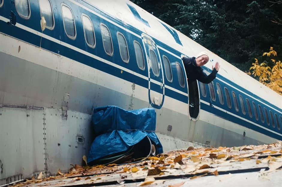 Этот самолет получил вторую жизнь.