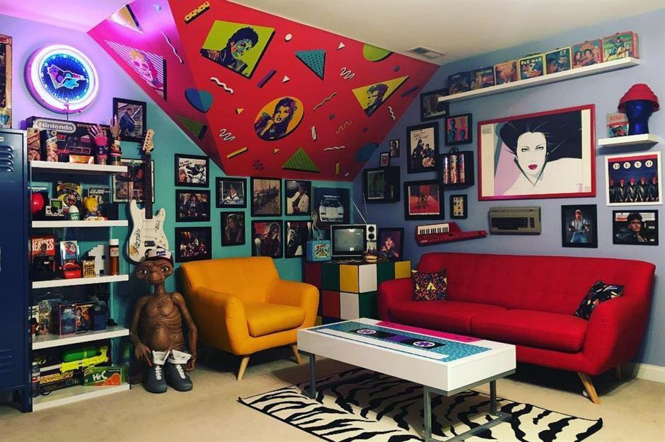 retro style 80 s retro style retro bedroom decor  popular