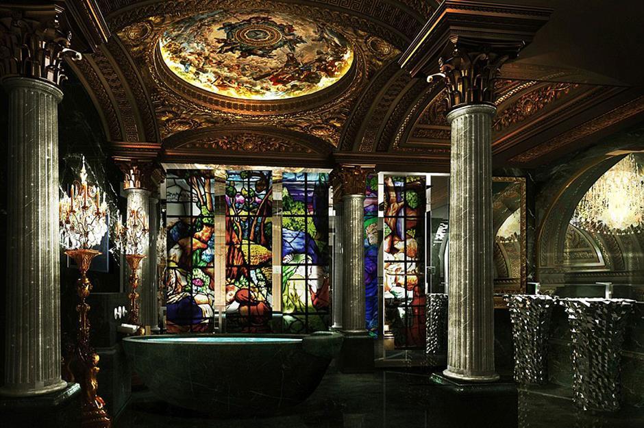 Badkamer Romeinse Stijl : De duurste badkamers ter wereld grandlife