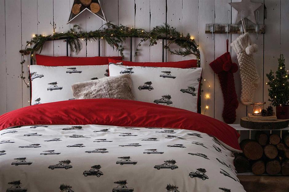Christmas Teddy Baby Comforter and Soft Blanket Set