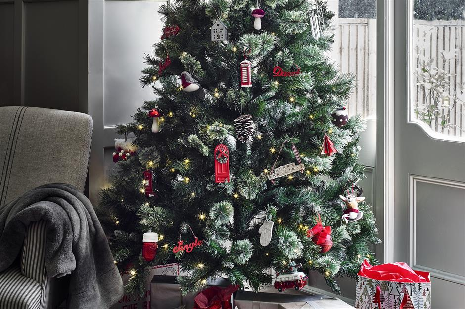 Gray Christmas Tree Decorations.Christmas Tree Decorating Ideas For Every Style And Budget