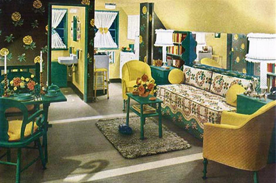 These Retro Living Rooms Are A Vintage
