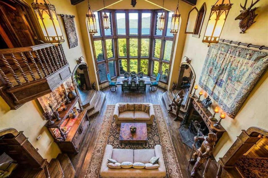 Fairytale Castles For Sale Right Now Loveproperty Fascinating Castle Interior Design Property