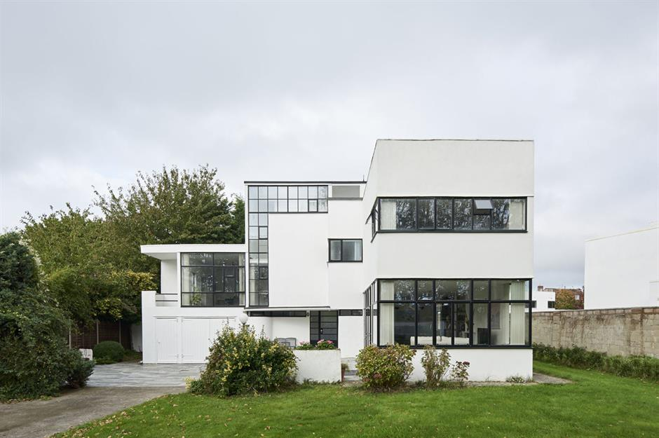 Art Deco Glass Block Home Design