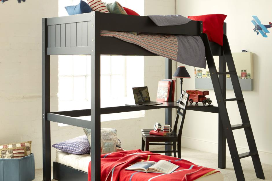 L-shaped bunk beds for sleepovers with study space & 29 incredible kids\u0027 beds | loveproperty.com
