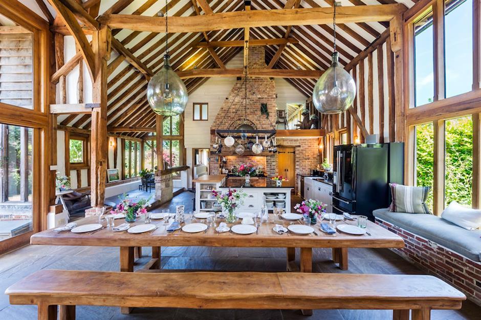 39 design secrets for successful open-plan living ... on curved line design, elongated corner design, curved unique wine racks,