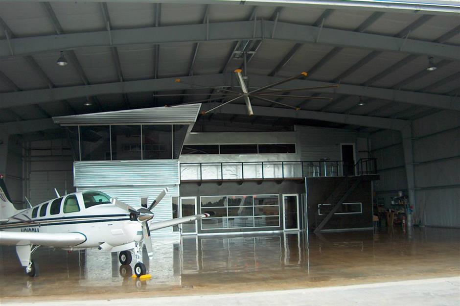 Hangar And Control Tower Home Texas Usa G J Gardner Homes