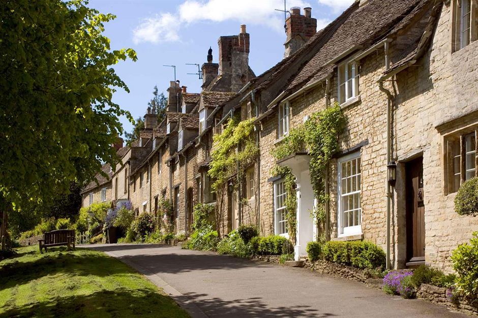 Burford Oxfordshire England