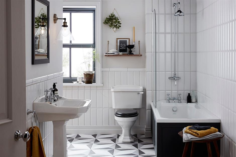 53 budget bathroom ideas to freshen up your space ...