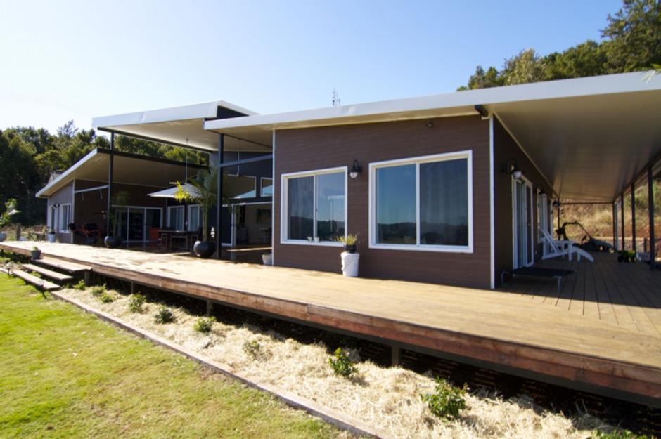Maison container rennes belle maison en bois au sud de la for Maison container normandie