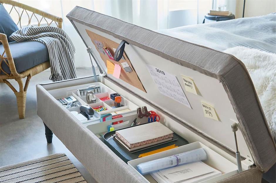 Home Shopping Plastic Carrier Bag Storage Holder Dispenser Rack Decoraction