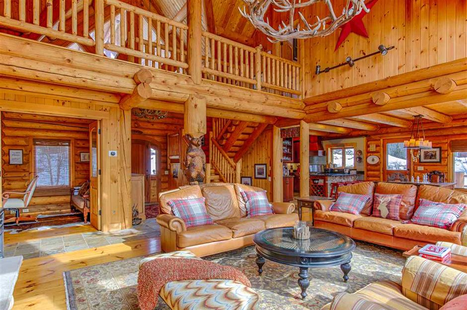9 Luxury Log Cabins For Sale You Ll Want To Escape To Loveproperty Com