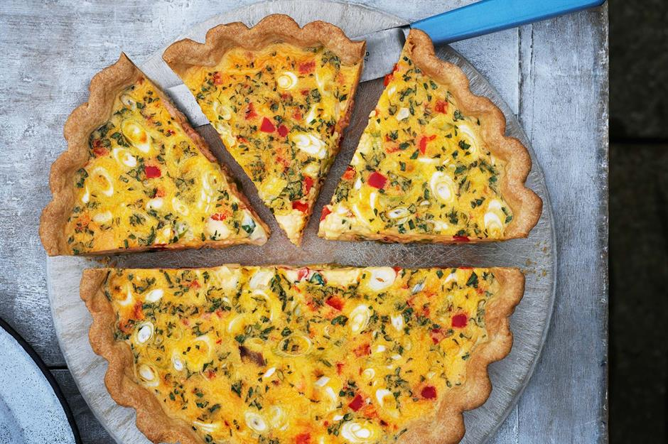 how long to cook a quiche with 6 eggs