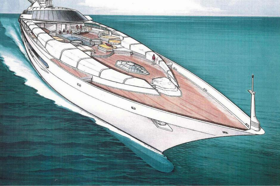Donald Trump 39 S Superyacht And Other Billionaire Boats