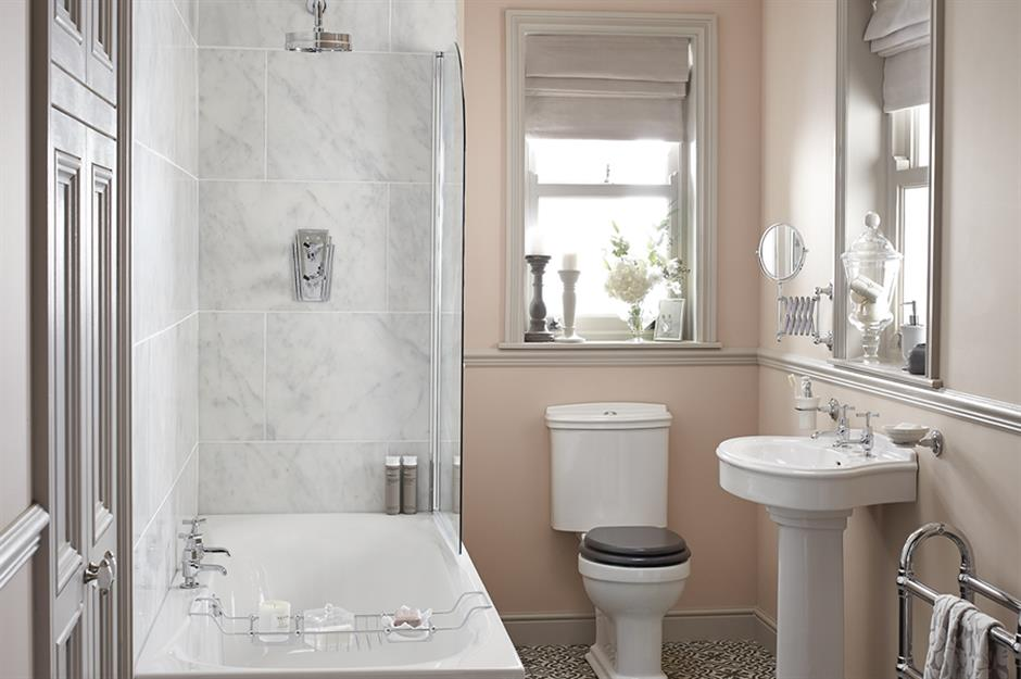 53 budget bathroom ideas to freshen up your space - Bathroom ideas photo gallery small spaces ...