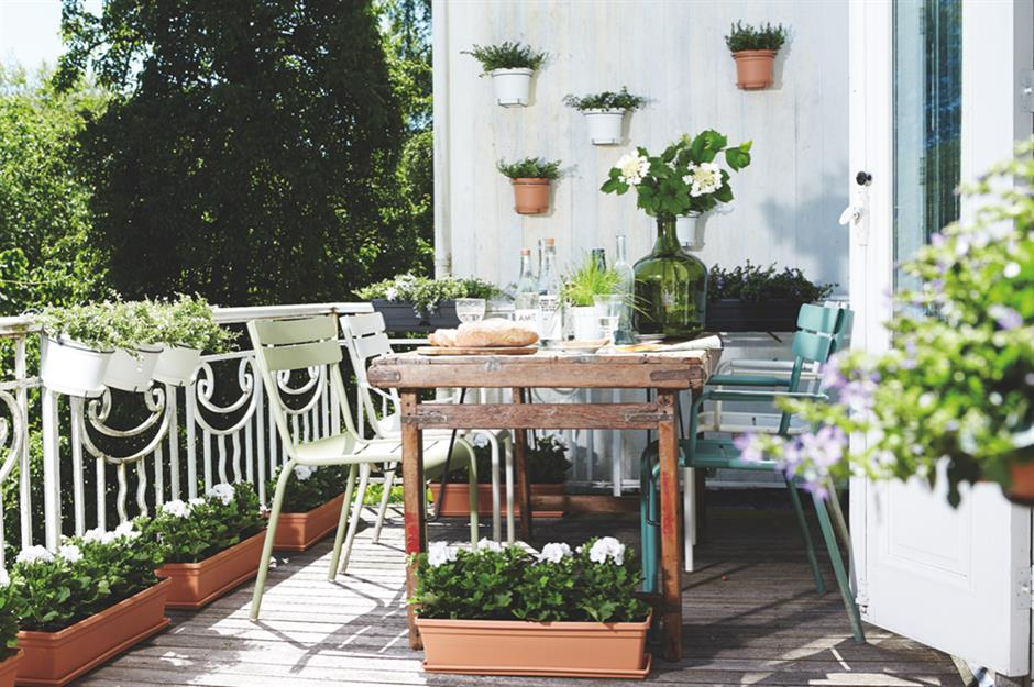 Balcony ideas for your little patch of paradise