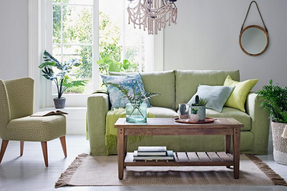 green sofa living room living room ideas for every style and budget 14738