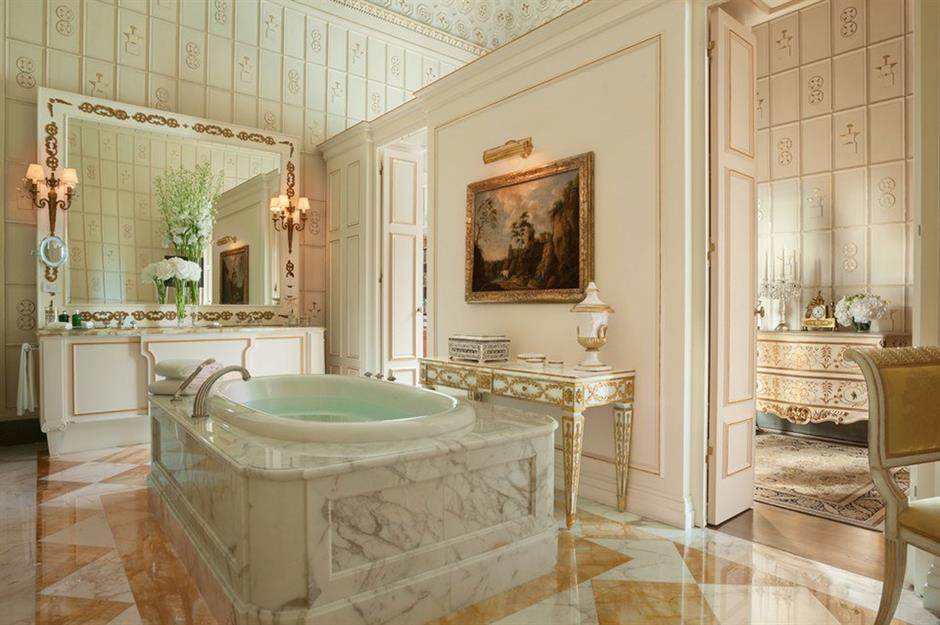 Royal Suite Bathroom Four Seasons Hotel Florence Italy