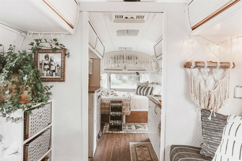Amazing Airstreams The World's Coolest Tiny Home On Wheels Impressive Airstream Interior Design Minimalist