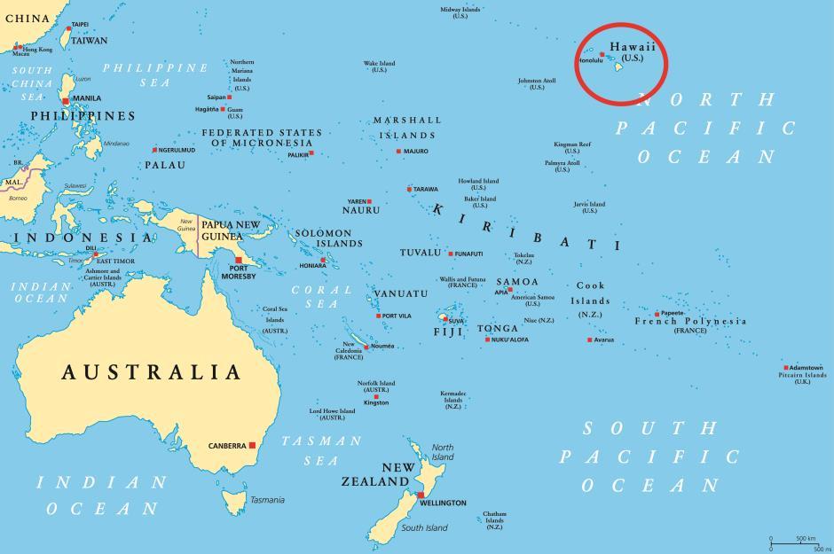 American islands that aren\'t in North America | loveexploring.com