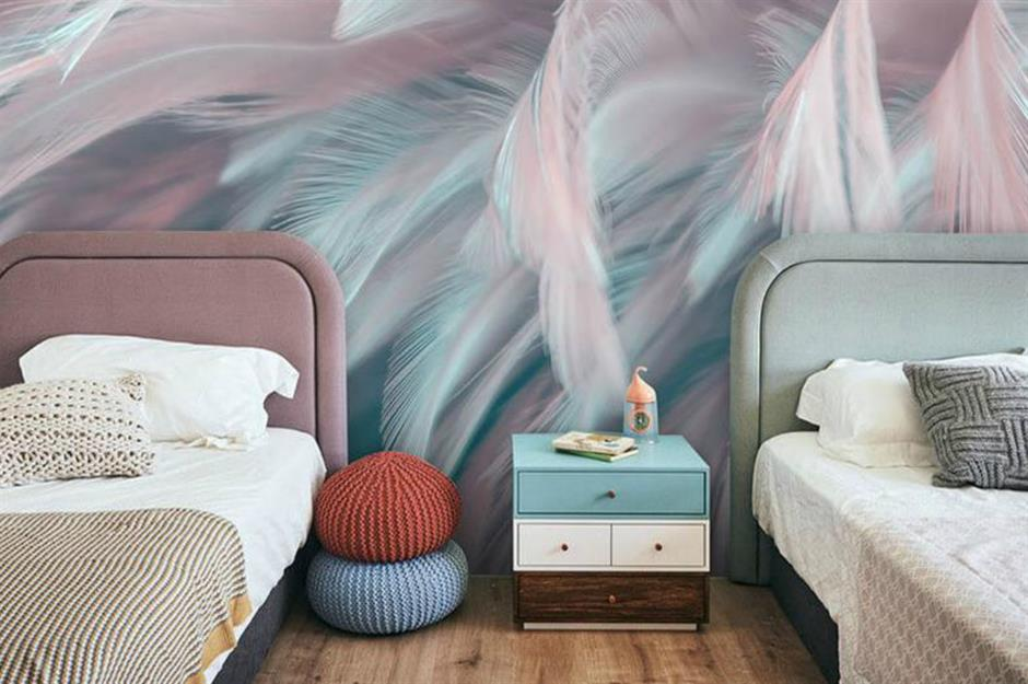 b02d5973 798c 460b aae8 542964a87d41 9 3D feather wall mural