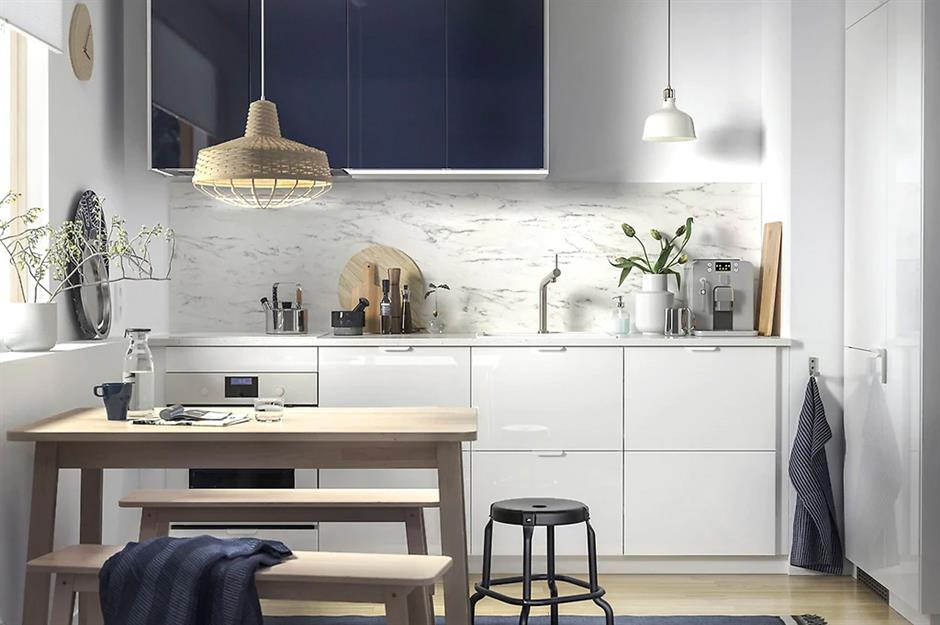 latest ikea small kitchen designs | Space-saving ideas for small kitchens | loveproperty.com