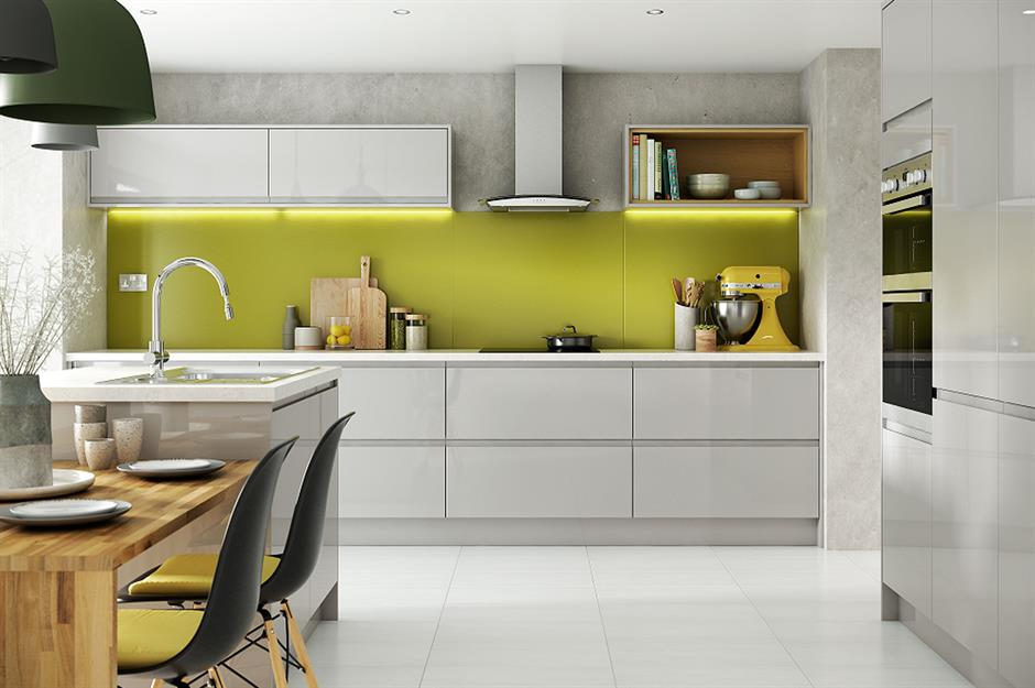 Bright Ideas For Colourful Kitchens Loveproperty Com