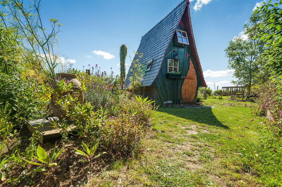 Incredible fairy tale homes that people can actually live in